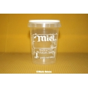 POT PLASTIQUE 500 G PAL NICOT IMPRESSION MIEL TRANSPARENT