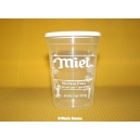 POT PLASTIQUE 500 G PEP NICOT IMPRESSION MIEL TRANSPARENT