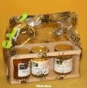 PLATEAU A MIEL ARTISANAL POUR 7 POTS DE 125 G (sans pot de miel)
