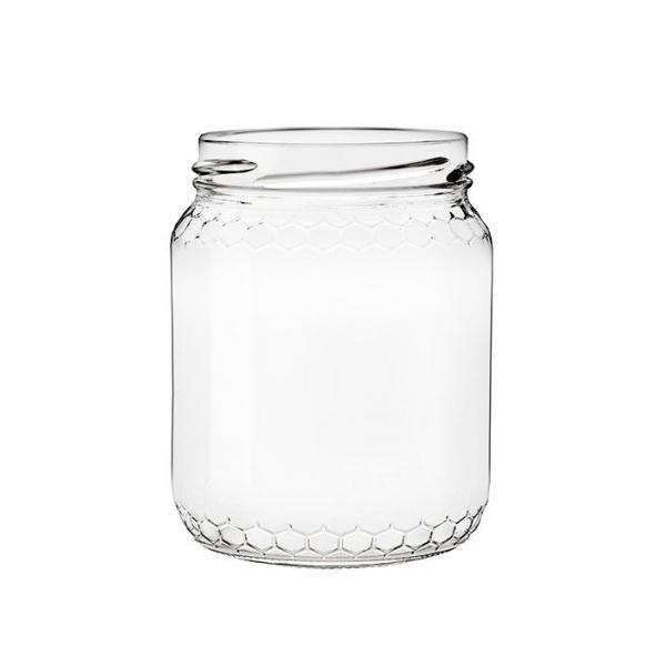 pot verre 250 g 212 ml miele to 63 sans capsule l 39 abeille auboise. Black Bedroom Furniture Sets. Home Design Ideas