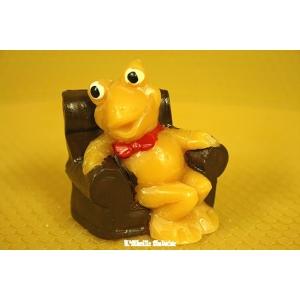 grenouille assise dans fauteuil decoree - Fauteuil Grenouille