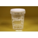 POT PLASTIQUE 250 G PAL NICOT IMPRESSION MIEL TRANSPARENT