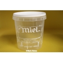 POT PLASTIQUE KG PAL NICOT IMPRESSION MIEL TRANSPARENT