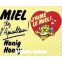 "PANNEAU ""MIEL"""