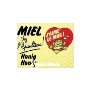 """PANNEAU PVC """"MIEL"""""""